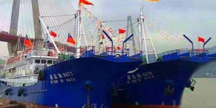New Pingtan vessels ready for sea. Image: Pingtan Marine Enterprise - @ Fiskerforum