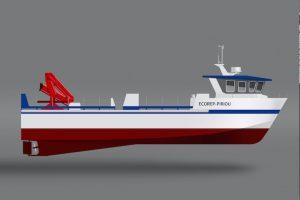 ECOREP-Piriou has signed an order for a 17 metre catamaran for the Eurl Zizou fish farm at Chlef in Algeria - @ Fiskerforum