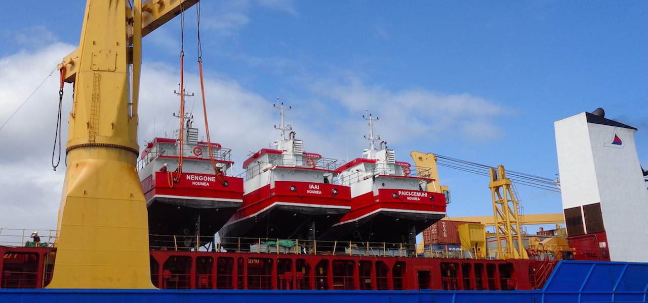Piriou delivers longliners to Noumea