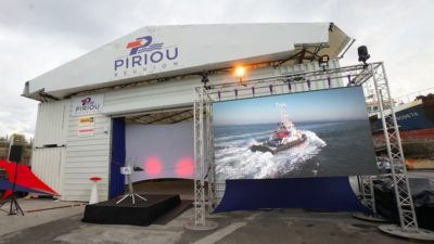 Piriou opens Réunion ship repair and maintenance facility