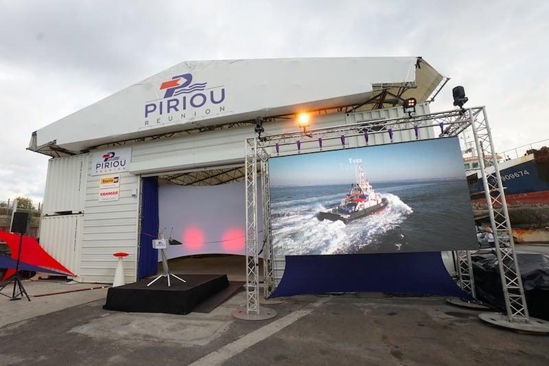 Piriou opens Réunion ship repair and maintenance facility
