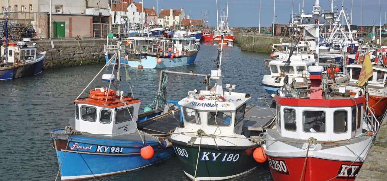 Scotland's support for seafood fishing industry