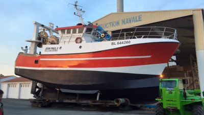 Boulogne trawler refitted