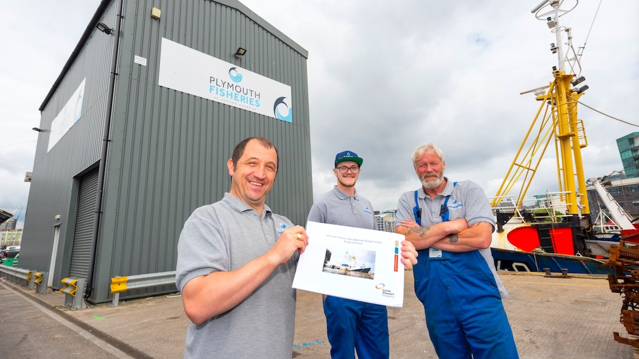 Plymouth Fisheries upgrades fuel facilities
