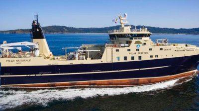 Vigo yard delivers second Greenland shrimp trawler
