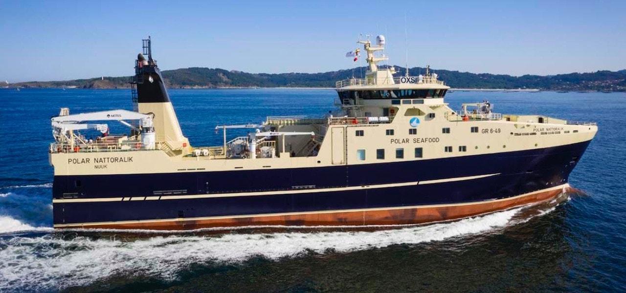 Polar Seafood har fået bygget ny frysetrawler ved CNP Freire værftet i Vigo Spanien