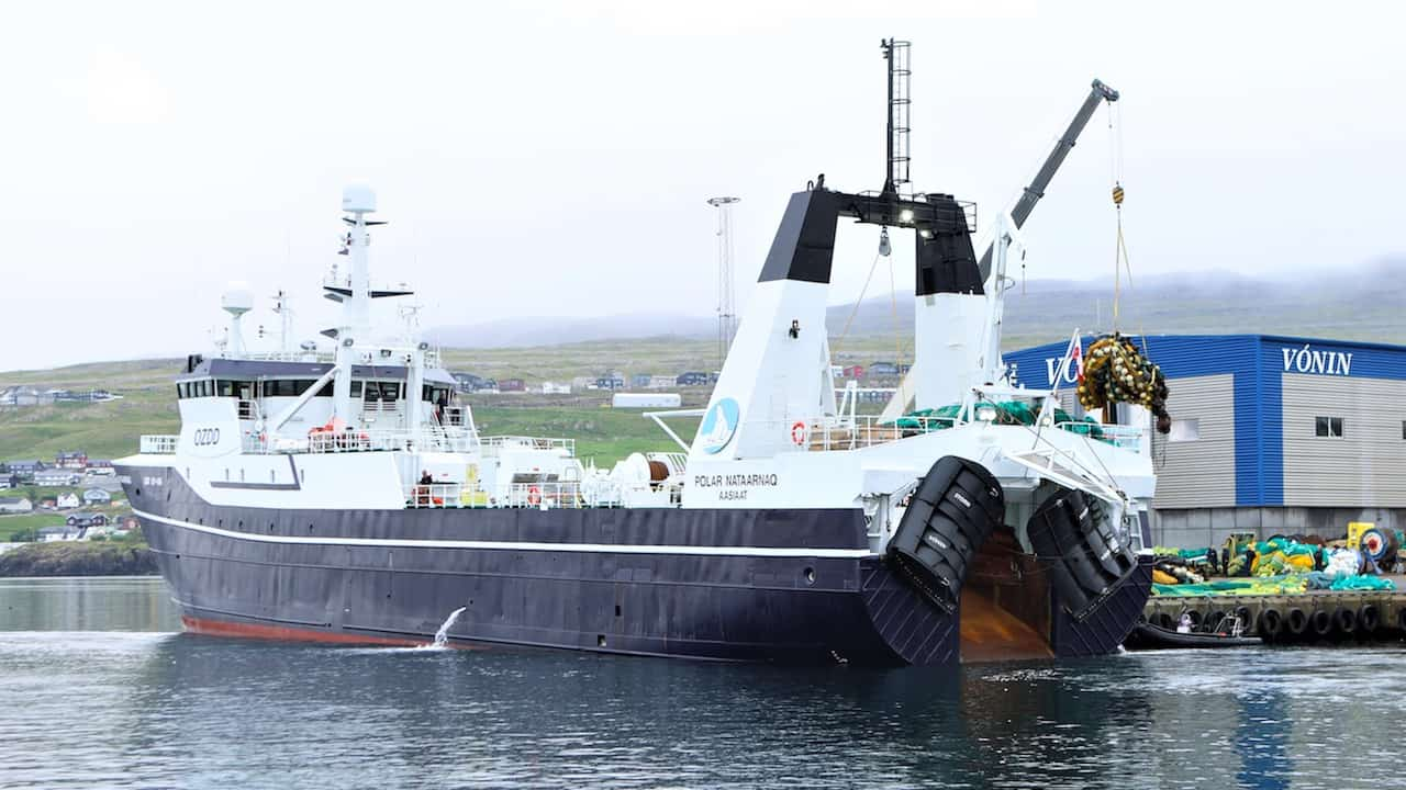 Read more about the article Polar Nataarnaq rigged with Vónin shrimp gear