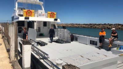 Australia's biggest rock lobster catcher