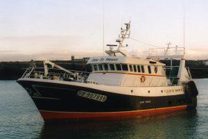 One of the fleet of seventeen Armament Porcher trawlers - @ Fiskerforum