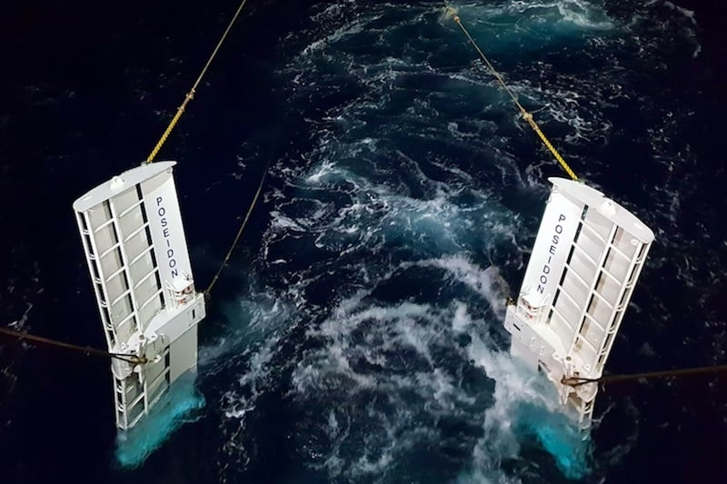 This is the future – steerable trawl doors in action