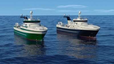 Rolls-Royce design and equipment for Greenland pair