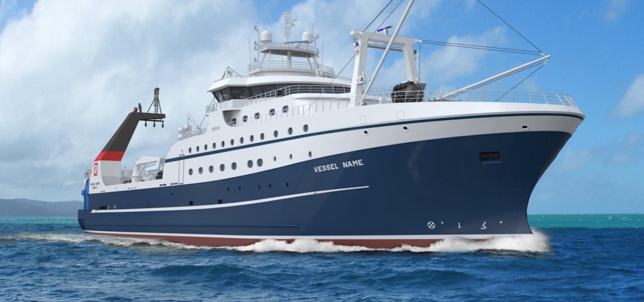 Admiralty Shipyard starts work on third RFC trawler