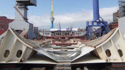 Fourth RFC trawler's keel laid