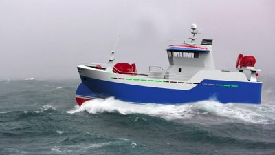New seine netter for Icelandic owners