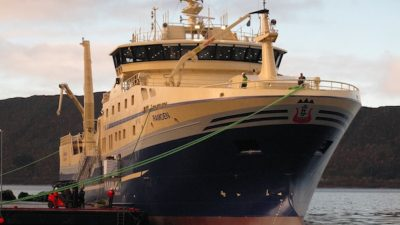 New Ramoen heads for the Barents Sea