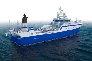 Both Triplex and Rapp Marine are among the suppliers to the new Sealord trawler being built at Simek in Norway - @ Fiskerforum