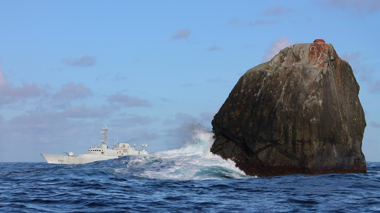 Rockall row erupts between Ireland and Scotland
