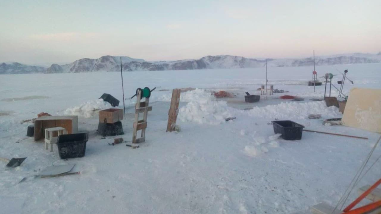 Read more about the article Hunting halibut through the ice
