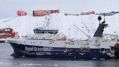Generational shift at Royal Greenland's fleet