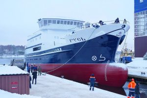 Rus has been launched at the Pella Shipyard. Image: Rosrybolovstvo - @ Fiskerforum