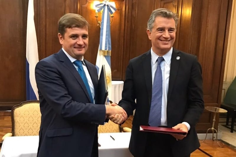 Russia and Argentina agree co-operation on fisheries and aquaculture