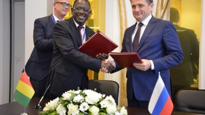 Russia and Guinea sign fisheries co-operation agreement