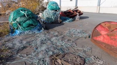 Searching for ghost fishing gear in Finnish waters