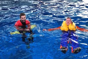 New MoB pilot course for fishermen has been run at the RNLI training centre - @ Fiskerforum