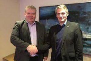Fisheries ministers Sigurður Ingi Jóhannsson and Hogni Høydal - @ Fiskerforum