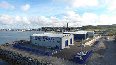 Swan Net Gundry opens up in Shetland