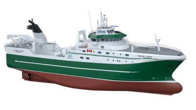Ocean Choice invests in Newfoundland and Labrador fisheries with new trawler