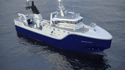 Renewal of Aker Seafoods trawler fleet getting a powerful boost