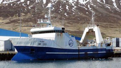 Changes for Síldarvinnslan fleet