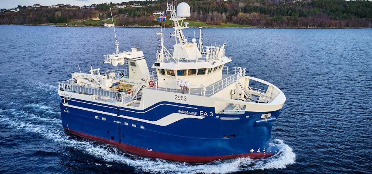 Latest in Vard series delivered to Icelandic owners