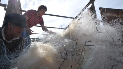 Spanish tech company collects nets for recycling