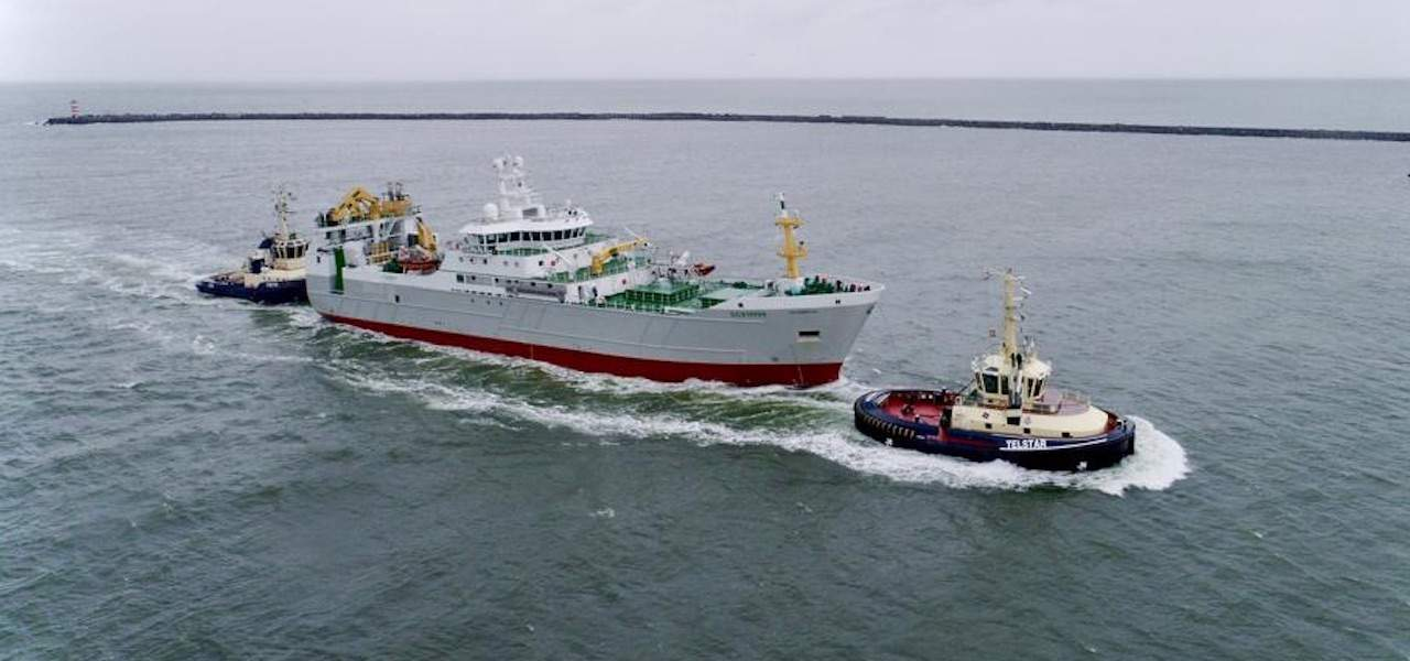 First trip for freezer trawler Scombrus