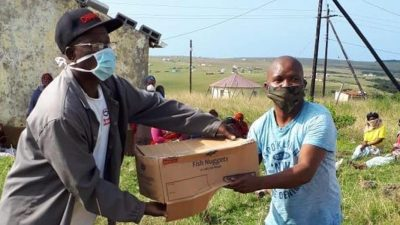 Sea Harvest donates 10,000 food parcels for families during pandemic