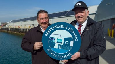 Peterhead leads the way on Responsible Fishing Ports Scheme