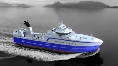 New trawler for NZ operator