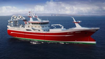 Serene a milestone for Danish yard