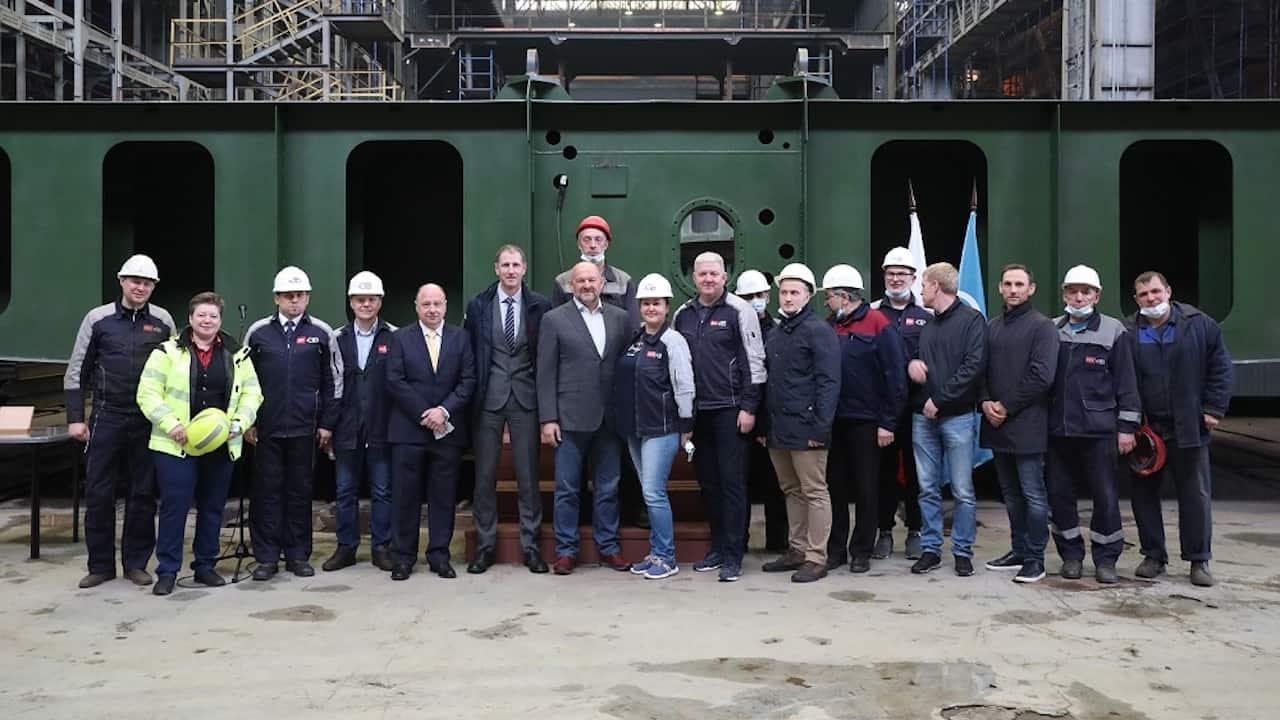 Construction starts on Norebo trawler #9