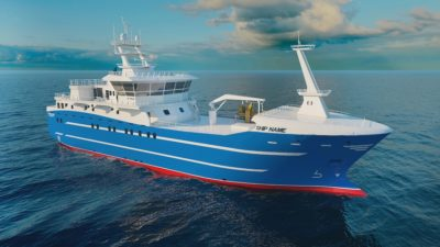 Keel laid for third in longliner series
