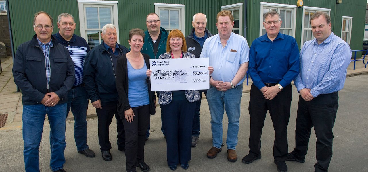 Shetland pelagic fishermen to donate £100,000 to MRI Scanner Appeal