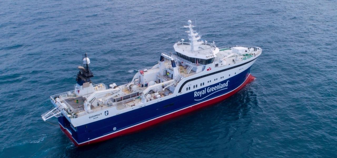 Royal Greenland's new flagship delivered
