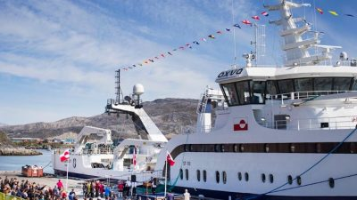 Royal Greenland's Sisimiut christened in Nuuk