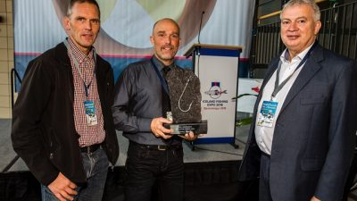 Award for small boat fisherman