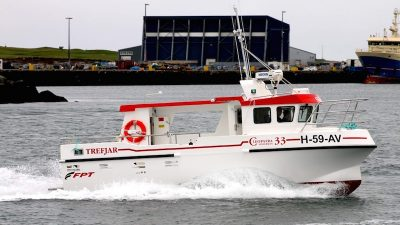 Trefjar delivers seine netter to Norway