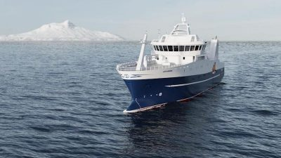Norwegian design and build for Southern Ocean catcher