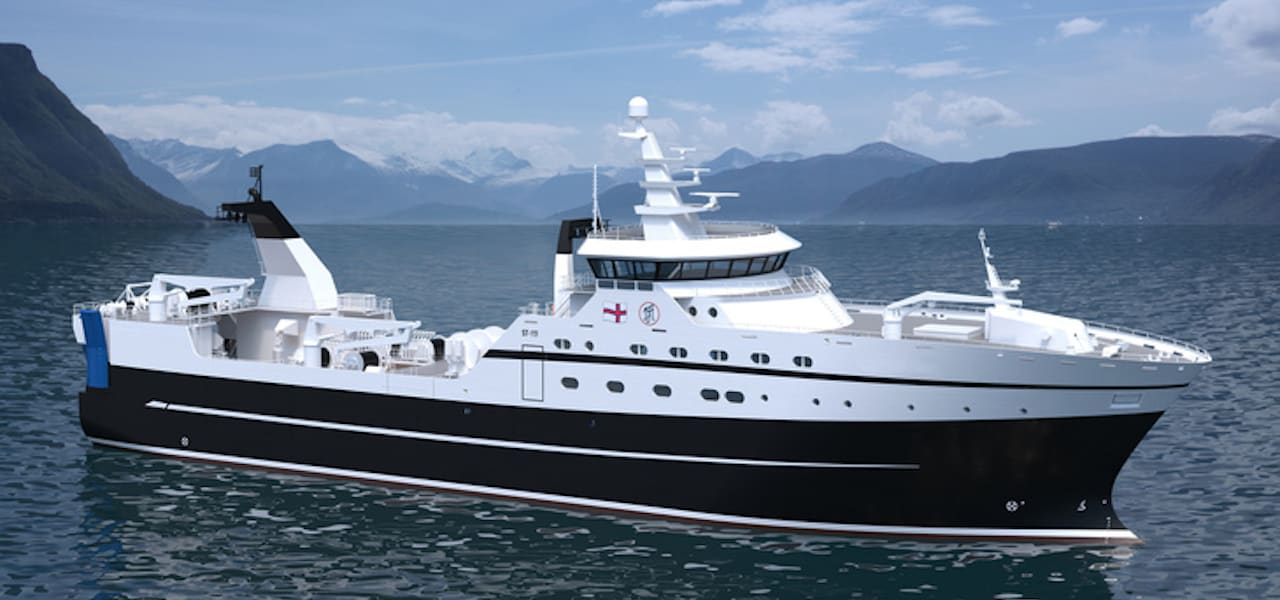 New trawler for Faroese owners