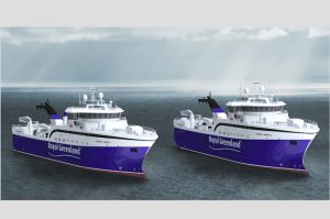 Skipsteknisk designed trawlers to be built in Spain for Royal Greenland - @ Fiskerforum